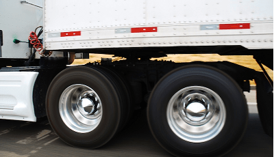 shiny truck wheels
