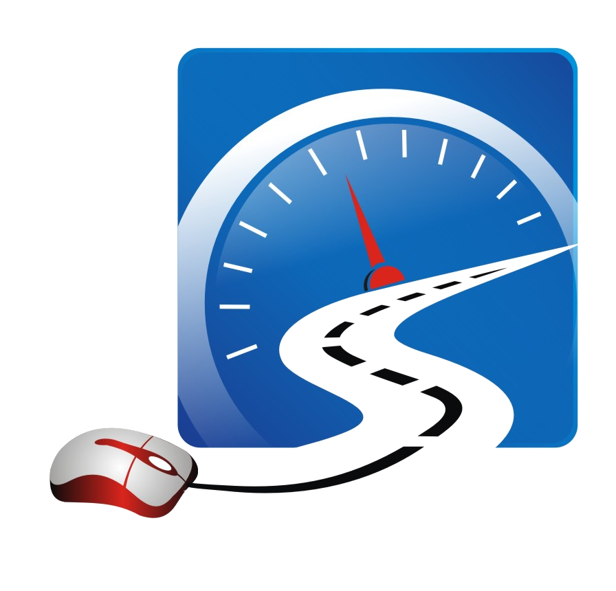 The Smart Drive Test Logo. Online learning for your on-road success!