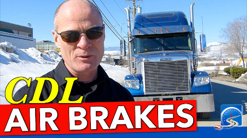 CDL air brakes is a required course to earn either your truck or bus license. Take the course here & pass first time...guaranteed.