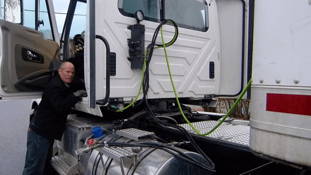Semi Tractor Air Lines : How to cdl airbrake inspection tractor protection system