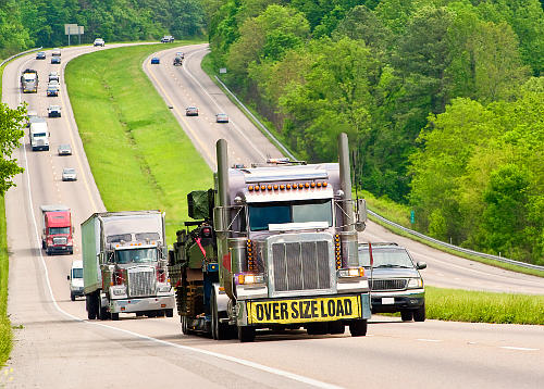There is a fuel tax on big trucks that is calculated by the number of miles they travel in a state or province.