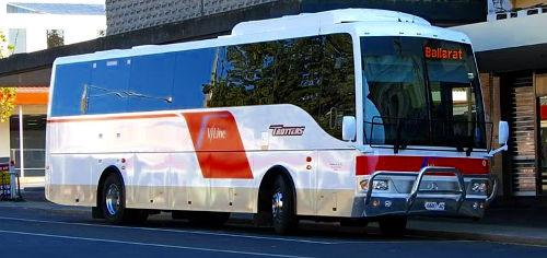 During his years at the University of Melbourne, Rick August drove part time for V Line.<p>This was a regional bus line in the state of Victoria.