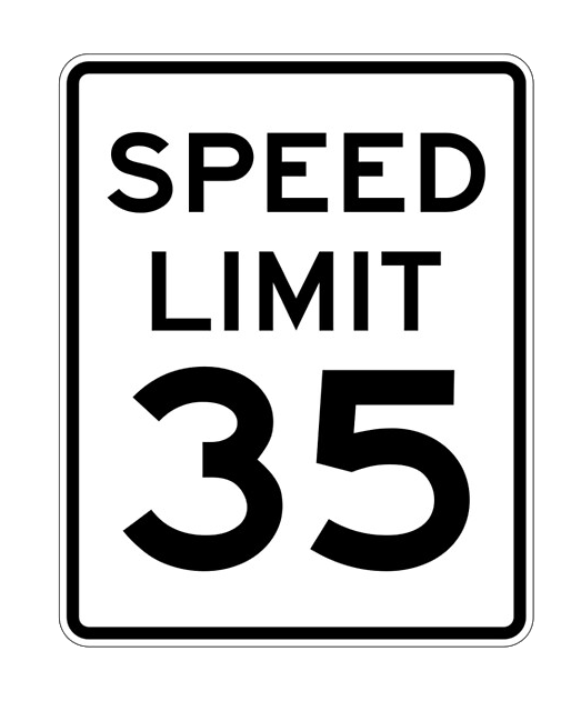 The speed limit inside Idaho cities is 35mph unless otherwise posted.
