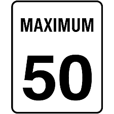 The speed limit inside New Brunswick cities is 50kmp unless otherwise posted.
