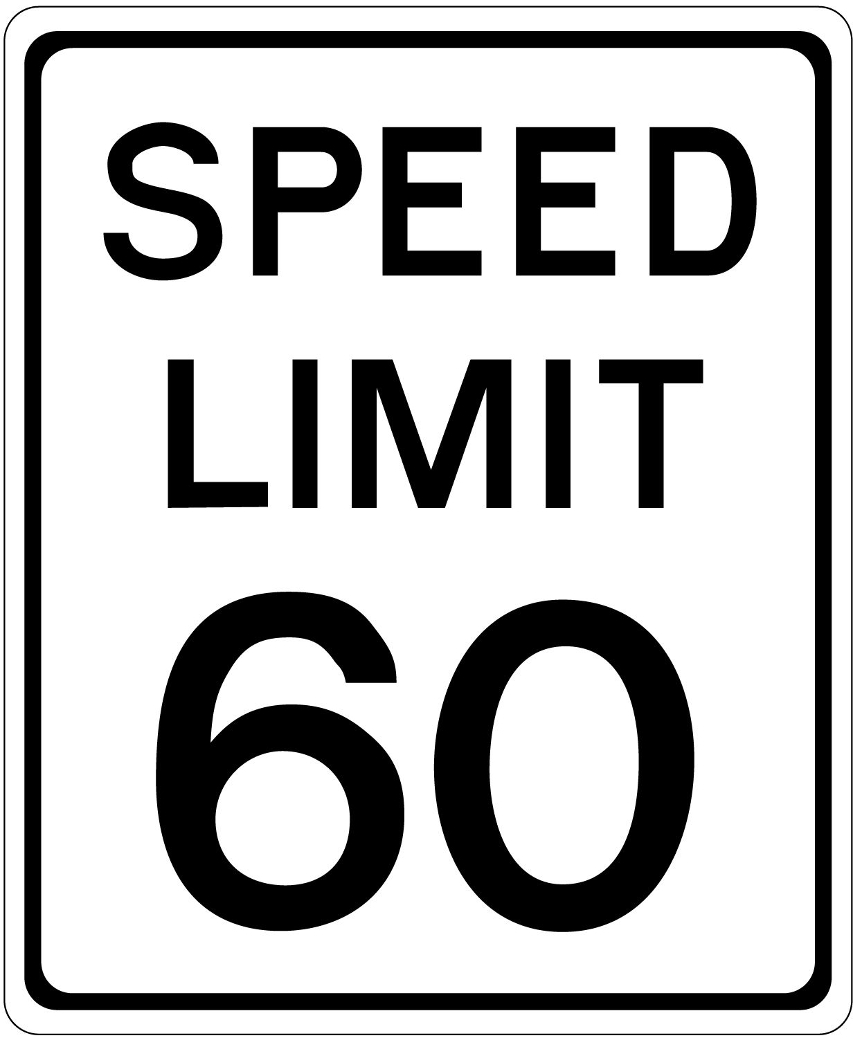 The maximum speed limit in Texas is 60mph on highways unless otherwise posted.