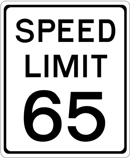 The maximum speed limit in the state of North Dakota is 65mph unless otherwise posted.