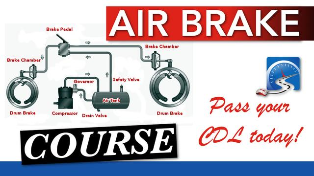 Pass the Air Brake Component of Your CDL License today!