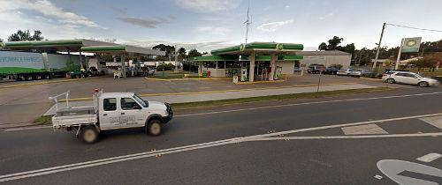 The BP service station was the half way point for the Greyhound run between Melbourne and Brisbane.