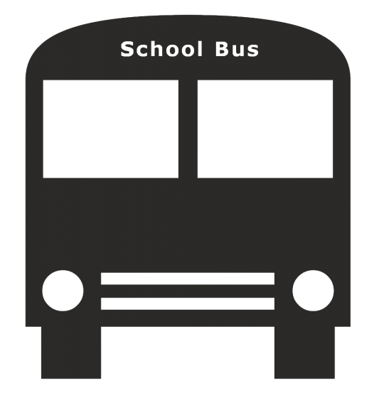 school_bus_front_bw4