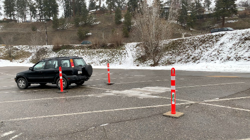 Reversing for the Ohio Manoeuvrability Test is the most challenging. Stay tight to the driver's side and the other side will look after itself.