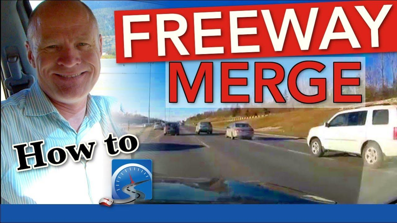 How to merge onto a freeway is daunting for most new drivers. With a few simple skills, new drivers can overcome this challenge.