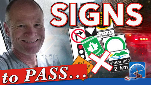 Road signs communicate information for driving. Road signs are critical to both pass your road test and be a safer and smarter driver.