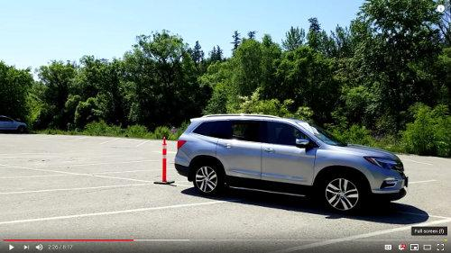 Reversing up to a pylon in a parking lot will teach you clutch control and when to push the clutch in before braking.
