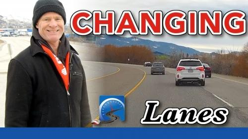 Changing lanes for a driver's test is one of the fundamental skills and techniques that you will have to demonstrate in changing traffic conditions.