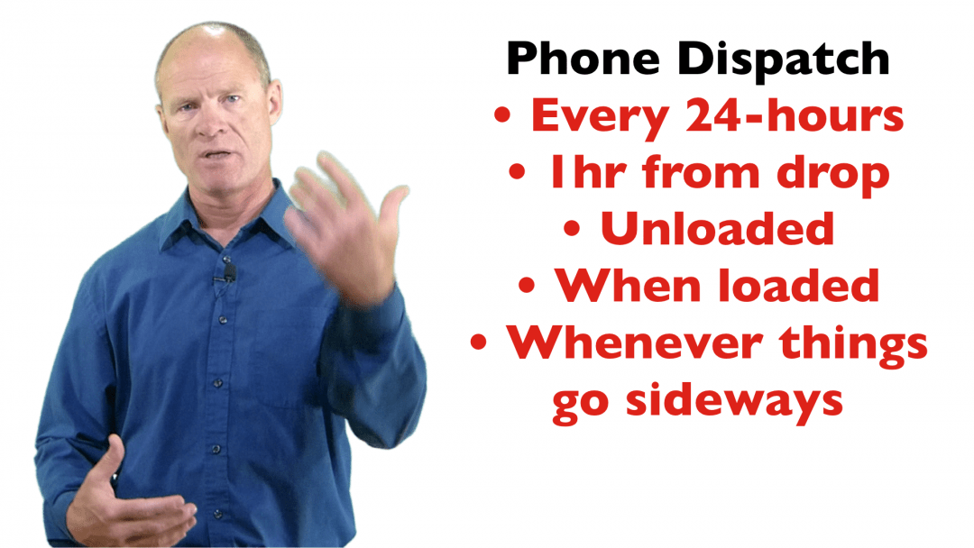 When to call Dispatch