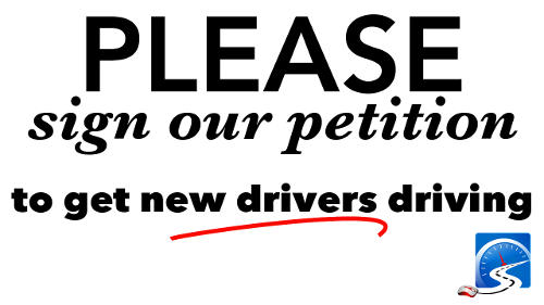 Sign our petition to move California learner driver to the probationary stage of their license.